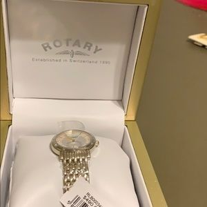 Rotary ladies watch new w tag